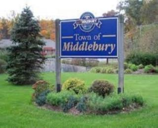 Town of Middlebury Sign